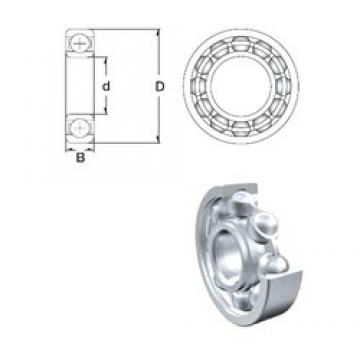 220 mm x 340 mm x 56 mm  ZEN 6044 deep groove ball bearings