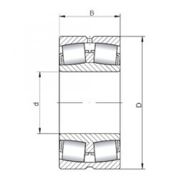 100 mm x 165 mm x 52 mm  ISO 23120W33 spherical roller bearings