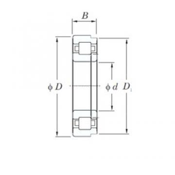 220 mm x 340 mm x 56 mm  KOYO NUP1044 cylindrical roller bearings