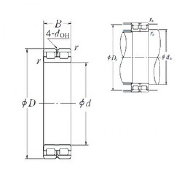 220 mm x 300 mm x 80 mm  NSK RSF-4944E4 cylindrical roller bearings #1 image